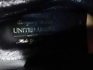 ユナイテッドアローズ UNITED ARROWS ショートブーツ 35 レディース 黒 フェイクファー レザー×化学繊維【中古】
