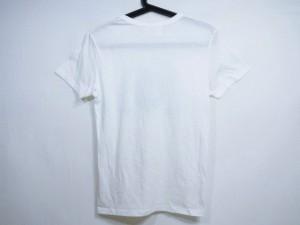 アングリッド UNGRID 半袖Tシャツ サイズF レディース 美品 白×ネイビー【中古】