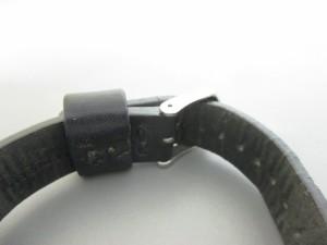 ズッカ ZUCCA 腕時計 1N00-0RB0 レディース 革ベルト 白【中古】