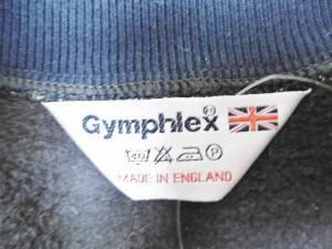 ジムフレックス Gymphlex ブルゾン メンズ ネイビー×アイボリー 春・秋物/ジップアップ【中古】