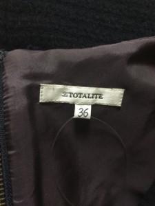 ラ トータリテ La TOTALITE ワンピース レディース ネイビー ニット/ノースリーブ【中古】