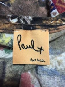 ポールスミスプラス Paul+ PaulSmith ワンピース サイズM レディース ダークブラウン×マルチ【中古】