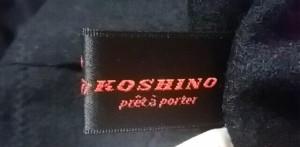 ヒロココシノ HIROKO KOSHINO 長袖セーター サイズ9 M レディース 美品 黒【中古】