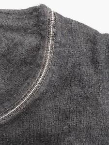 アナイ ANAYI 長袖セーター サイズ38 M レディース 黒【中古】