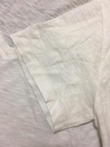 セオリー theory 半袖Tシャツ サイズS レディース 白 透け感あり/Vネック【中古】