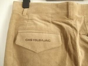 カステルバジャックスポーツ CastelbajacSport パンツ サイズ82 メンズ ライトブラウン コーデュロイ【中古】