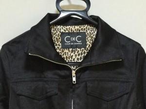 クードシャンス CdeC COUP DE CHANCE ブルゾン サイズ38 M レディース 黒 春・秋物/ジップアップ【中古】