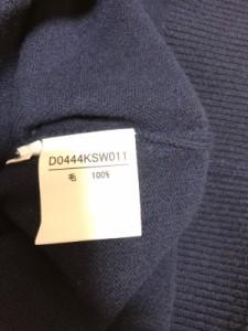 パパス Papas 長袖セーター サイズL メンズ ネイビー【中古】
