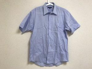 バーバリーロンドン Burberry LONDON 半袖シャツ サイズ40 M メンズ ブルー【中古】