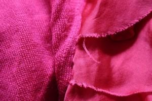 ジユウク 自由区/jiyuku カーディガン サイズ40 M レディース 美品 レッド tentation/フリル/異素材組み合わせ【中古】