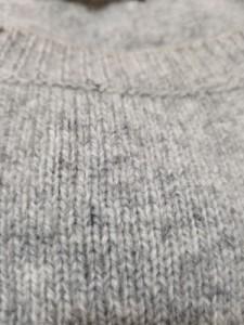ニジュウサンク ワンピース サイズ38 M レディース 美品 ライトグレー×ダークグレー×ピンク Vingt-trois arrondissements【中古】
