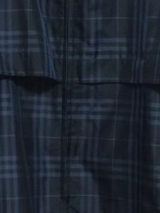 バーバリーゴルフ BURBERRYGOLF ブルゾン サイズL メンズ 黒×グレー チェック柄/春・秋物【中古】