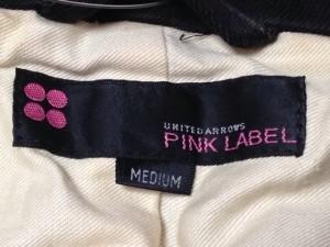 ユナイテッドアローズ UNITED ARROWS ジャケット サイズM レディース 黒 PINK LABEL【中古】