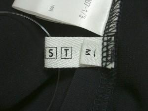 プラステ PLS+T(PLST) スカートセットアップ サイズM レディース 黒 3点セット【中古】