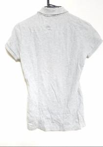 ラルフローレン RalphLauren 半袖ポロシャツ サイズS メンズ ライトグレー【中古】