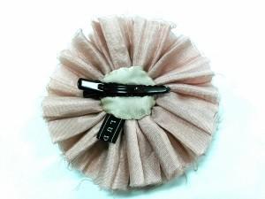 ラドロー LUDLOW アクセサリー レディース 美品 化学繊維×ビーズ ピンク×ブロンズ フラワー【中古】