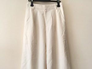ダブリュービー wb パンツ サイズ36 S レディース 美品 アイボリー【中古】