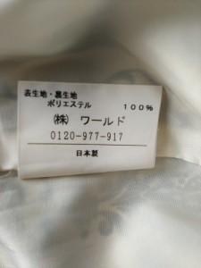 アンタイトル UNTITLED ワンピース サイズ2 M レディース ダークブラウン×アイボリー【中古】