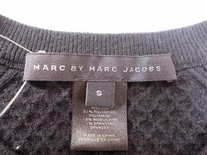 マークバイマークジェイコブス MARC BY MARC JACOBS カーディガン サイズS レディース 美品 黒 ジップアップ【中古】