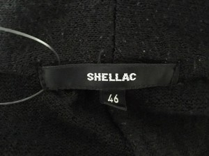シェラック SHELLAC カーディガン サイズ46 XL メンズ 黒【中古】