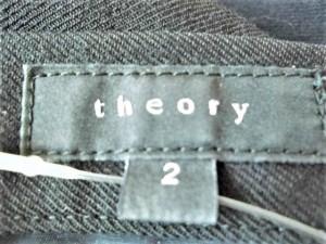 セオリー theory スカート サイズ2 S レディース 黒【中古】