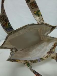 ハロッズ HARRODS トートバッグ レディース 美品 ベージュ×マルチ PVC(塩化ビニール)【中古】