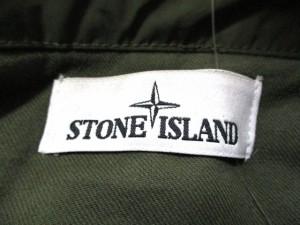 ストーンアイランド STONE ISLAND ダウンコート メンズ カーキ 冬物【中古】
