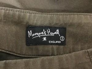 マーガレットハウエル MargaretHowell スカート サイズ1 S レディース カーキ【中古】