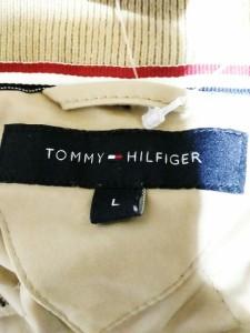 トミーヒルフィガー TOMMY HILFIGER ブルゾン サイズL メンズ 美品 ベージュ 冬物【中古】