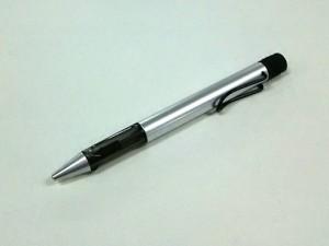 ラミー LAMY ボールペン レディース 美品 シルバー×黒 インクあり(黒) 金属素材×プラスチック×ラバー【中古】