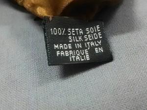 フェンディ FENDI スカーフ レディース 美品 黒×ブラウン×ダークブラウン×マルチ【中古】