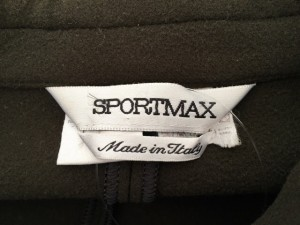 スポーツマックス SPORTMAX コート サイズ38 M レディース ダークブラウン 冬物【中古】