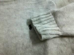 ポロラルフローレン POLObyRalphLauren 長袖セーター サイズM レディース 美品 ベージュ 刺繍【中古】