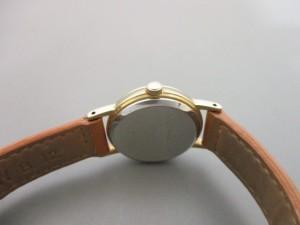 アニエスベー agnes b 腕時計 V117-0AT0 レディース 革ベルト 白【中古】