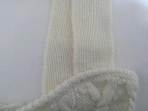 エリン ELIN キャミソール サイズ0 XS レディース 美品 白 ニットキャミブラ【中古】