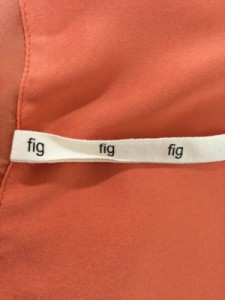 フィグロンドン fig London ワンピース サイズF レディース 美品 オレンジ【中古】
