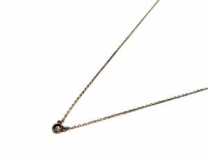 ティファニー TIFFANY&Co. ネックレス レディース バイザヤード シルバー×ダイヤモンド 1Pダイヤ/約0.07カラット【中古】