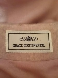 グレースコンチネンタル GRACE CONTINENTAL ワンピース サイズ36 S レディース ベージュ×マルチ【中古】