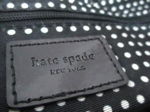 ケイトスペード Kate spade ショルダーバッグ レディース 黒 ナイロン×エナメル(レザー)【中古】