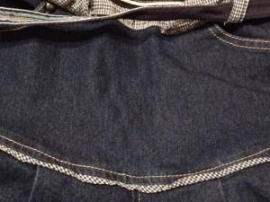 フラボア FRAPBOIS パンツ サイズ1 S レディース ネイビー デニム【中古】