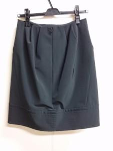 アドーア ADORE スカート サイズ36 S レディース 美品 黒 ステッチ【中古】