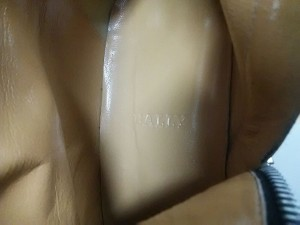 バリー BALLY ロングブーツ 8 1/2 レディース 美品 黒 ウェッジソール レザー【中古】