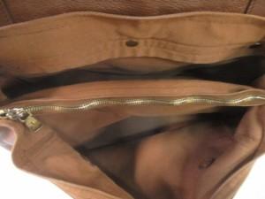 イヴサンローラン YvesSaintLaurent ハンドバッグ レディース ミューズトゥ 229680 ブラウン レザー【中古】
