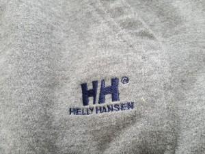 ヘリーハンセン HELLY HANSEN パーカー サイズM レディース グレー ジップアップ【中古】