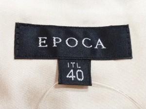 エポカ EPOCA ワンピース サイズ40 M レディース ライトベージュ【中古】
