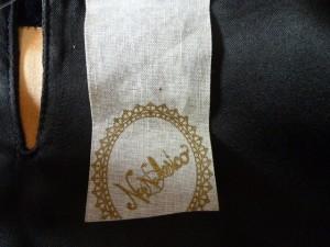 ナデシコ NANA NADESICO ワンピース サイズM レディース 美品 黒×アイボリー×マルチ ラインストーン/ボーダー【中古】