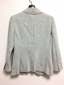ダブルスタンダードクロージング DOUBLE STANDARD CLOTHING ジャケット サイズ38 M レディース ライトグレー【中古】