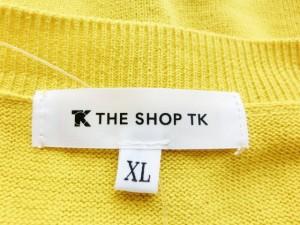 ザ ショップ ティーケー THE SHOP TK (MIXPICE) 長袖セーター サイズXL メンズ イエロー【中古】