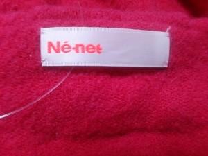 ネネット Ne-net ワンピース サイズ2 M レディース ピンク リボン/ニット【中古】