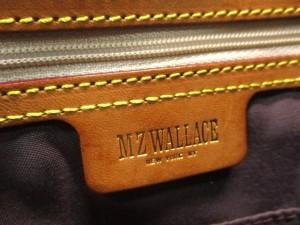 ウォレス MZ WALLACE トートバッグ レディース ブラウン キルティング ナイロン×レザー【中古】